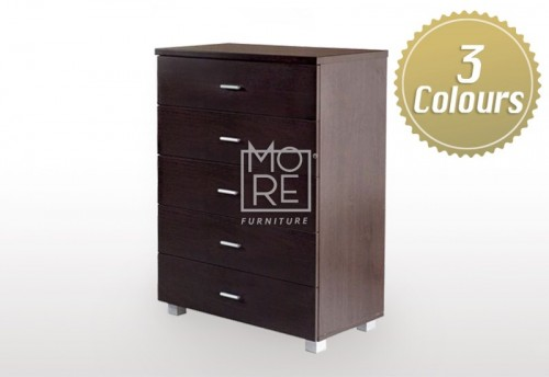 EVE CD Chest MDF Tallboy