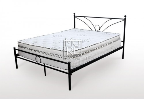 Sunset Metal Bed Frame Black