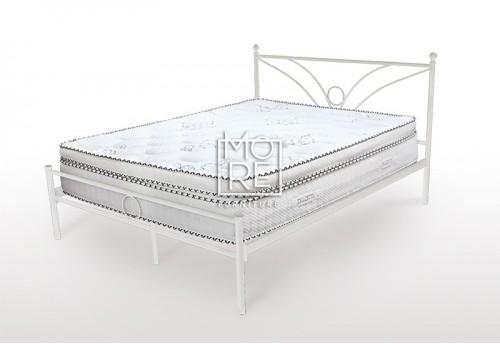 Sunset Metal Bed Frame White