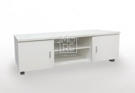 EVE CD MDF 1.5m TV Unit White