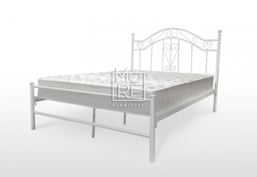 Bianca Metal Bed Frame White