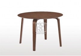 Swiss Timber Round Dining Table