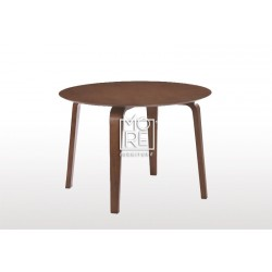 Swiss Timber 1m Round Dining Table