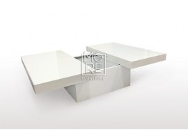 Helsinki High Gloss Storage Coffee Table