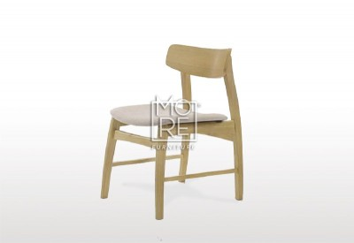 Jessie Timber Fabric Dining Chair