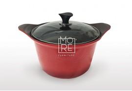 Kitchen Art Arte Ceramic Sauce Pot Red 28cm