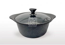 Kitchen Art Arte Gold Silver Marble Sauce Pot