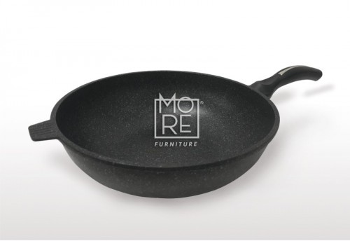 Queen&Kitchen Art Well Kitchen Eco-Stone Coating Wok