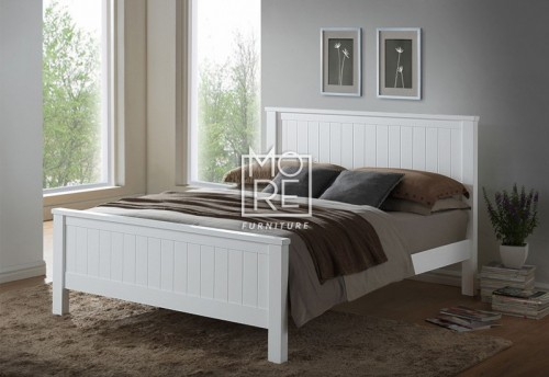 Brodie (Noah) Hardwood & MDF Bed Frame