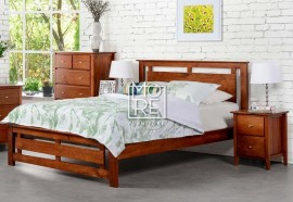 Tana NZ Pine Solid Timber Bed Frame