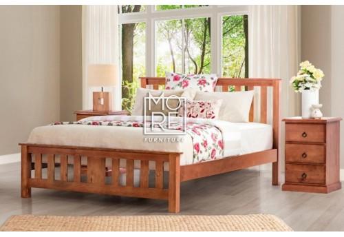 Carrington NZ Pine Golden Oak Bed