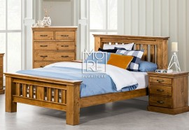 Kipling NZ Pine Solid Timber Bed Frame