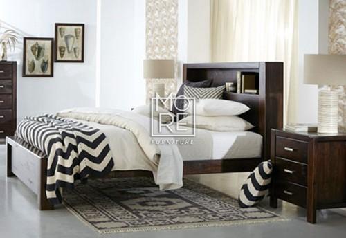 Longreach NZ Pine Timber Bed Frame