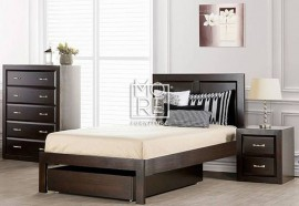 Maxi NZ Pine Solid Timber Bed Frame