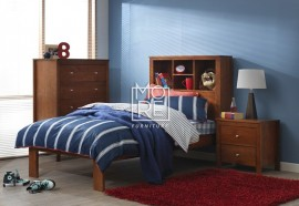 Tyler NZ Pine Solid Timber Bed Frame