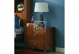 Tyler NZ Pine Solid Timber Bedside Table