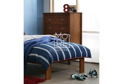 Tyler Chest NZ Pine Solid Timber Tallboy