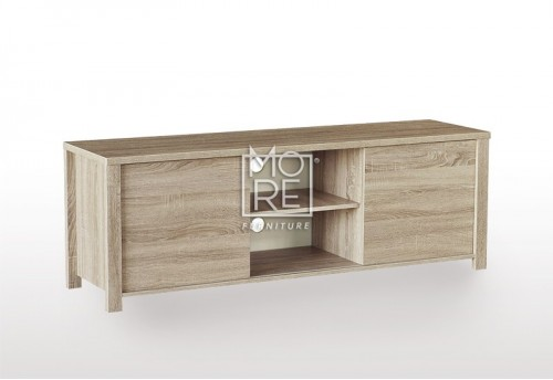EVE CUE Sliding Door 1.6m TV Unit Oak