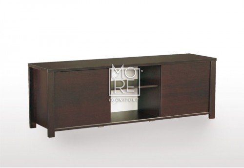 EVE CUE Sliding Door 1.6m TV Unit Walnut