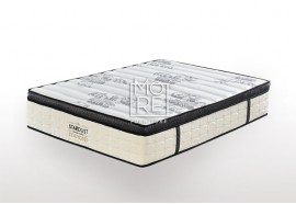 ICON Diamond Medium Firm Memory Foam&Latex Pillow Top Mattress