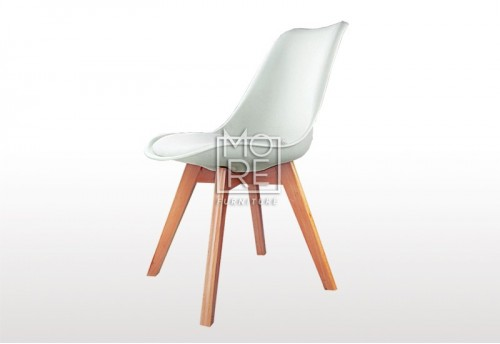 DB Modern Dining Chair White