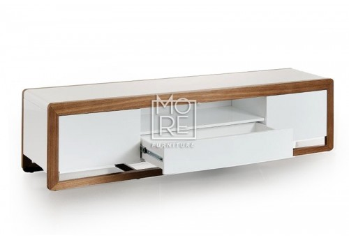 Oslo High Gloss 2m TV Unit White
