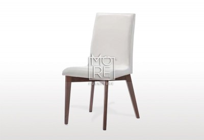 Oslo PU Leather Dining Chair White