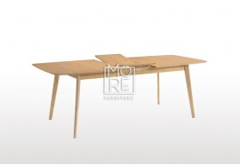 Harris 1.2m~1.5m Extension Timber Dining Table