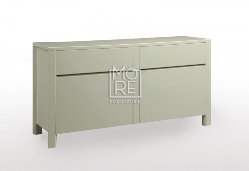 [70% Off] Cotton High Gloss Buffet Taupe