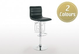Mars PU Leather Bar Stool Black & White