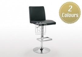 Mercury PU Leather Bar Stool Black & White