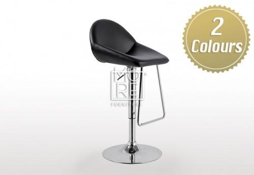 Scorpio PU Leather Bar Stool Black & White