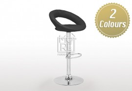 Venus PU Leather Bar Stool Black & White