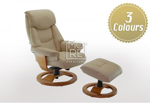 Grace Recliner with Footstool