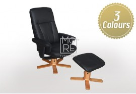 Halifax Recliner with Footstool