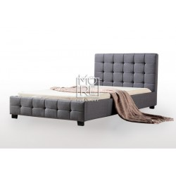DB Luxury Fabric Bed Frame Grey